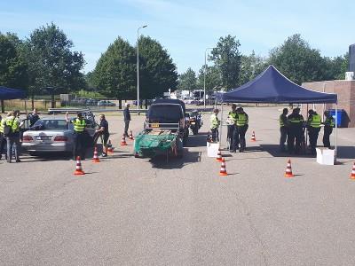 17 arrestaties bij criminaliteitscontrole in Limburg (Afbeelding: Politie)