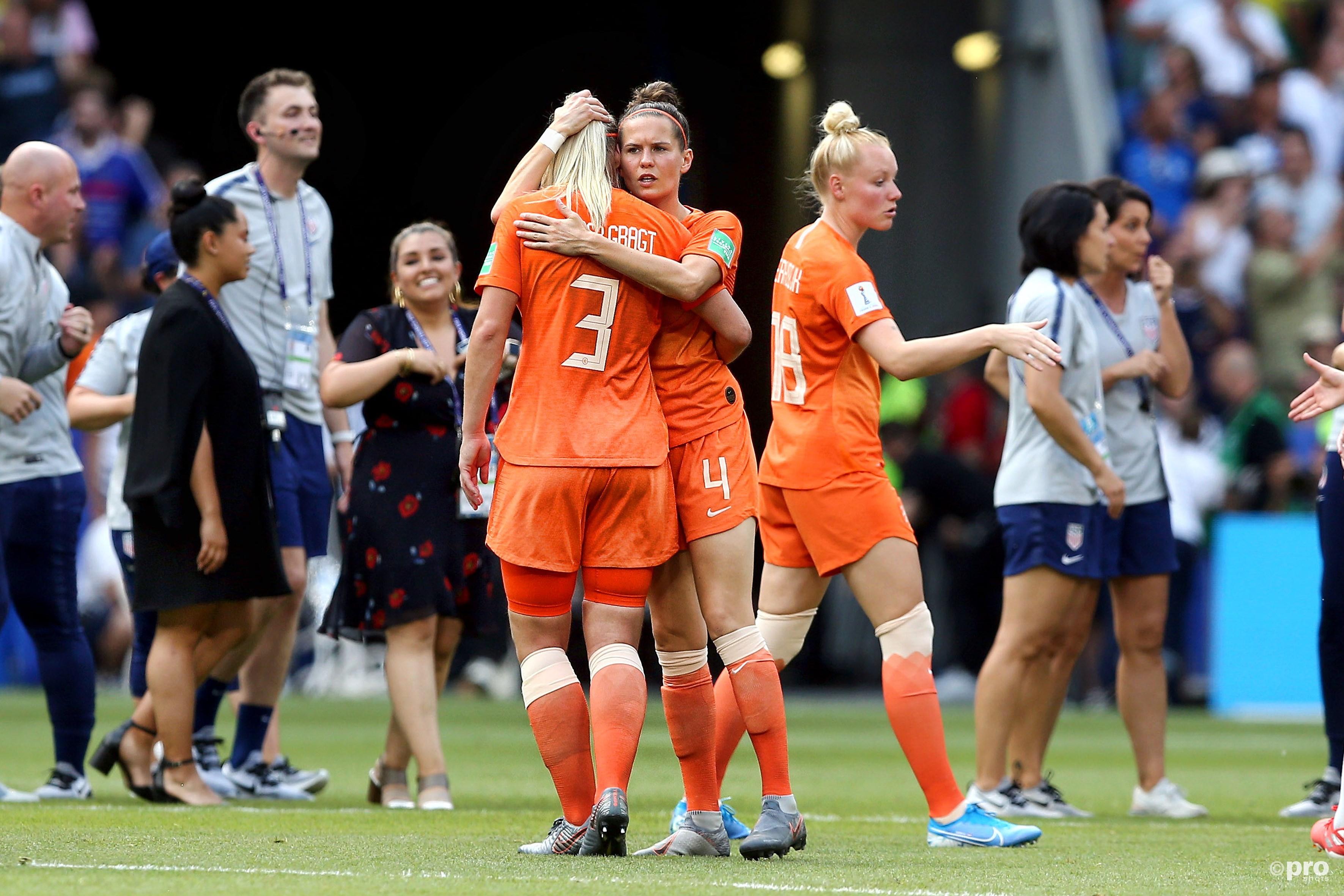 Nederland verliest finale WK voetbal (Pro Shots / Remko Kool)