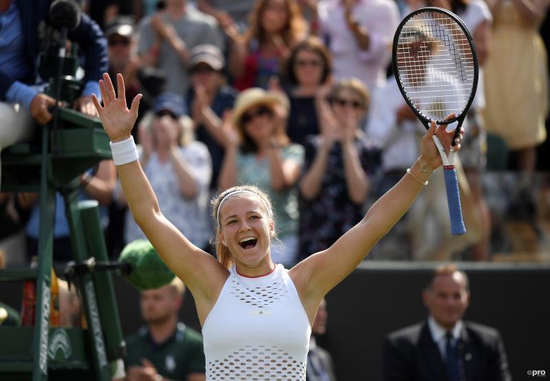 Muchova verrast Pliskova op Wimbledon (Foto: Pro Shots/Action Images)