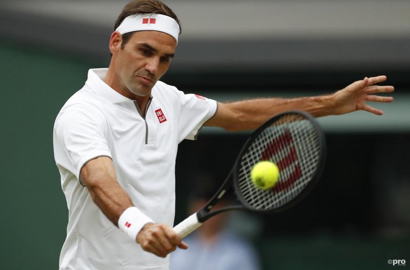 Federer in topvorm op Wimbledon (Foto: Pro Shots/SIPA USA)