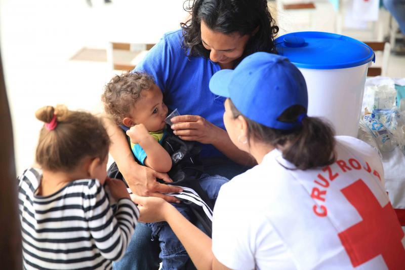 Rode Kruis: dringend meer medische hulp voor Venezolanen nodig (Foto: Rode Kruis)