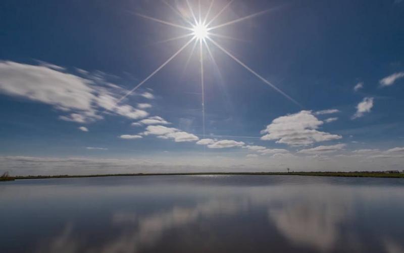 Windstil met de zon (Foto: KlapMongeaul)