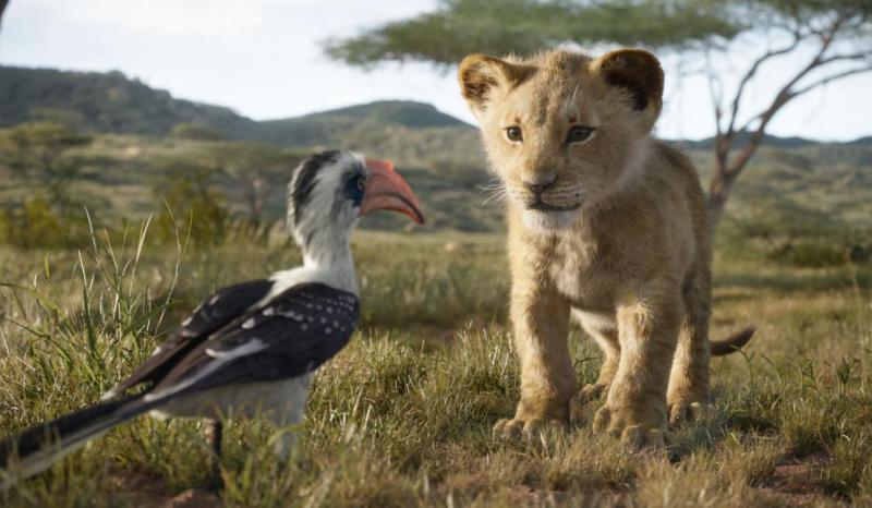 The Lion King (2019) Simba en Zazuu