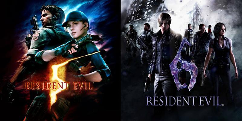 Resident Evil 5 + 6