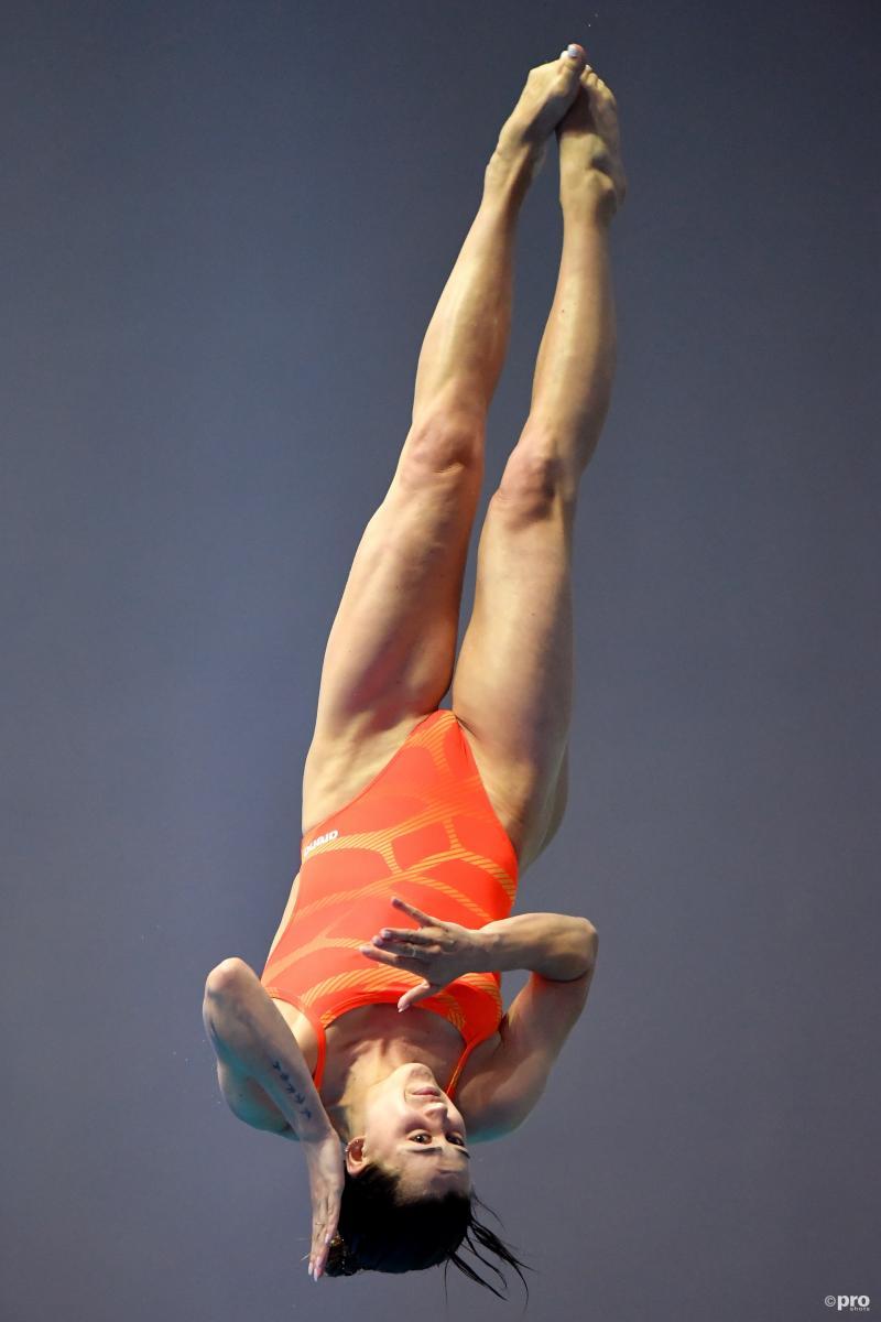 Schoonspringster Inge Jansen naar Olympische Spelen (Foto: Pro Shots/Insidefoto)