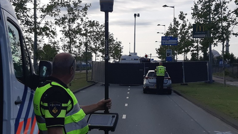 Motorrijder knalt op bus en overlijdt (Afbeelding: Politie.nl)