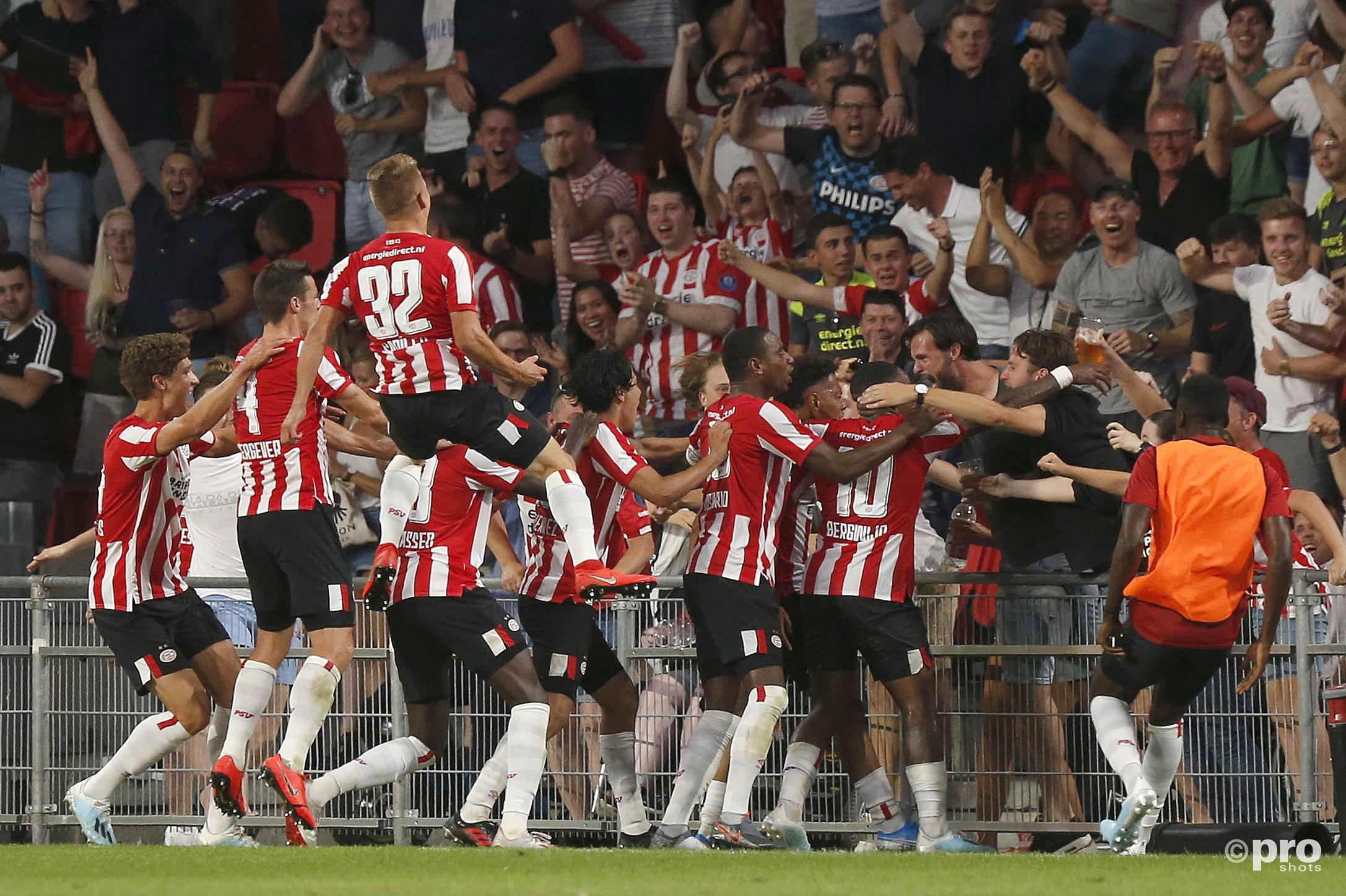 Lammers en Malen bezorgen PSV late winst tegen Basel (Pro Shots / Thomas Bakker)