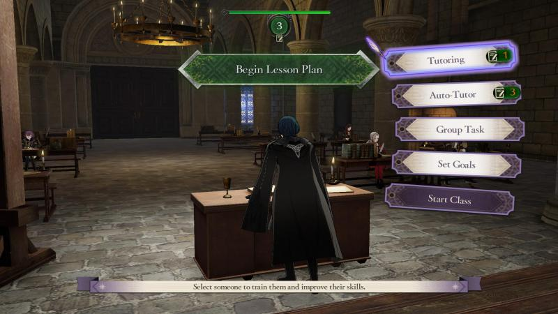 Fire Emblem: Three Houses - Teaching Preparation (Foto: Nintendo)