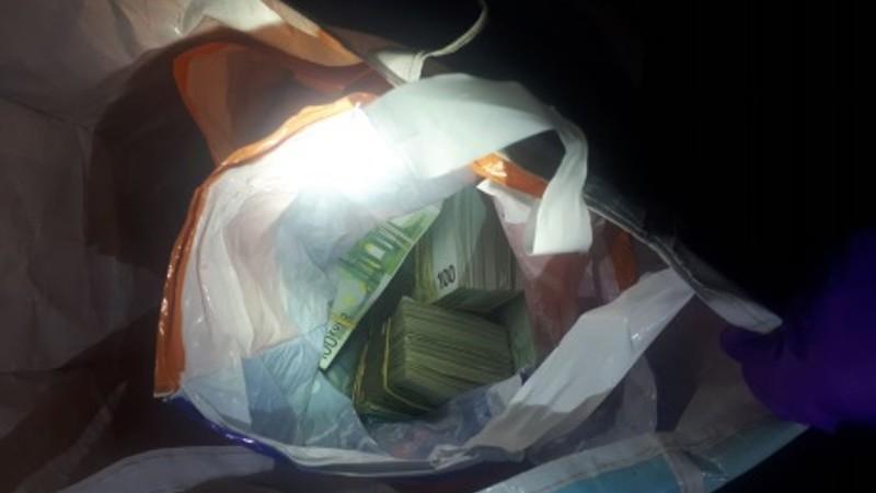 De tas met geld (Foto: Politie)