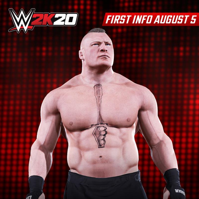 WWE 2K20 - Brock Lessnar