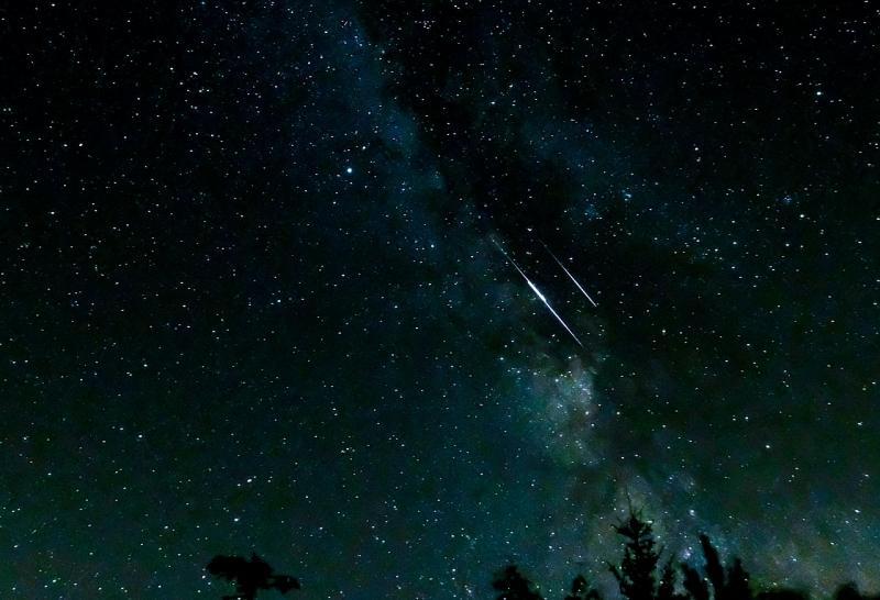 Vallende sterren (afbeelding: Pixabay)