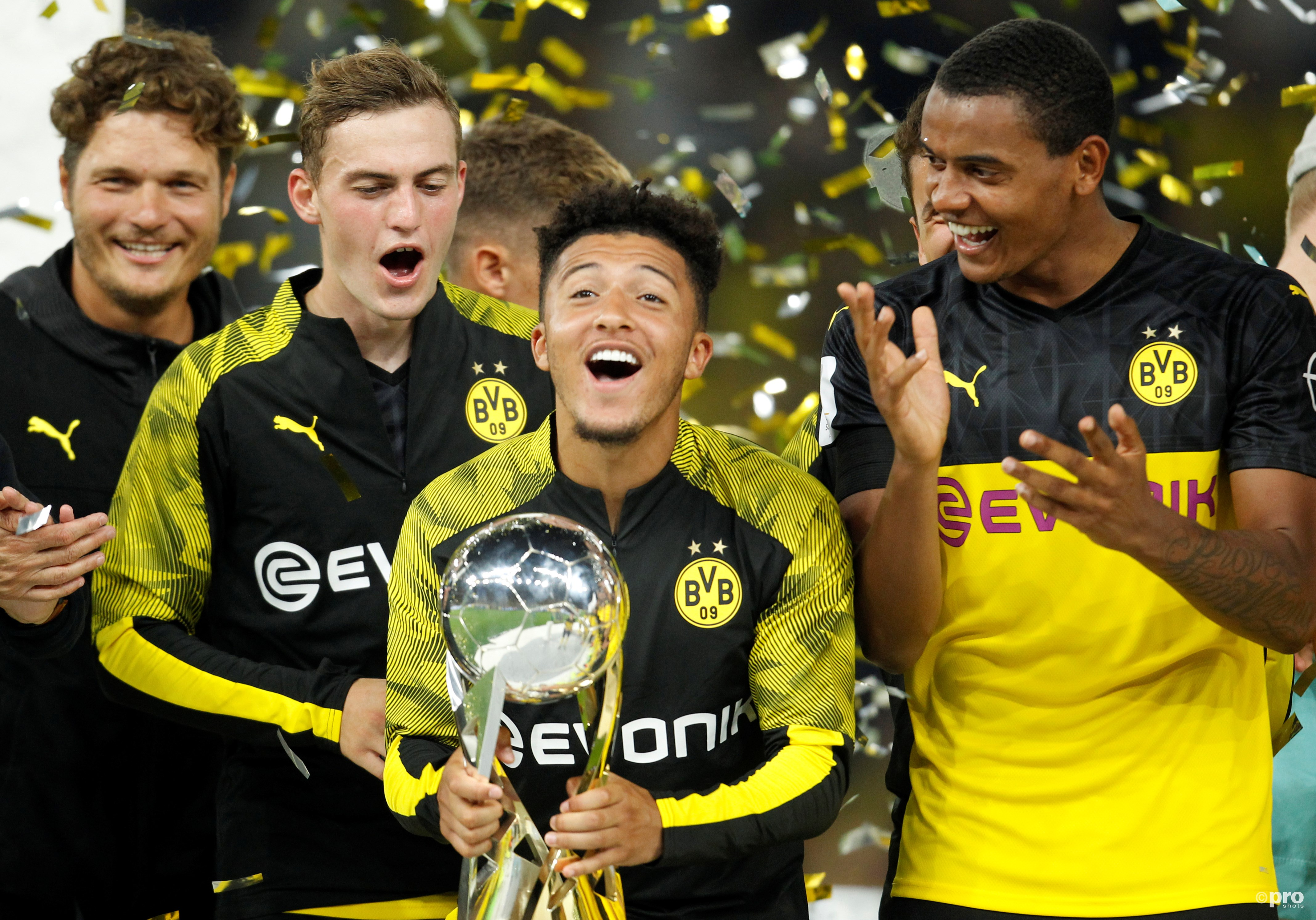 Dortmund wint Duitse Super Cup. (PRO SHOTS/Action Images)