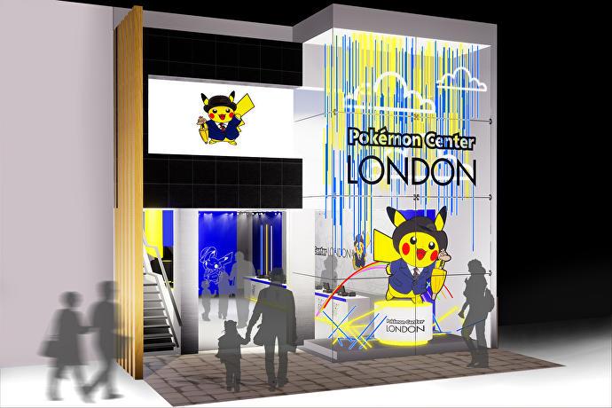 Pop-up Pokemon Center Londen
