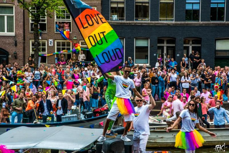 De Canal Parade in beeld  (Foto: Ronald Huiberse)