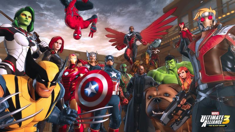 Marvel Ultimate Alliance 3 Line-up