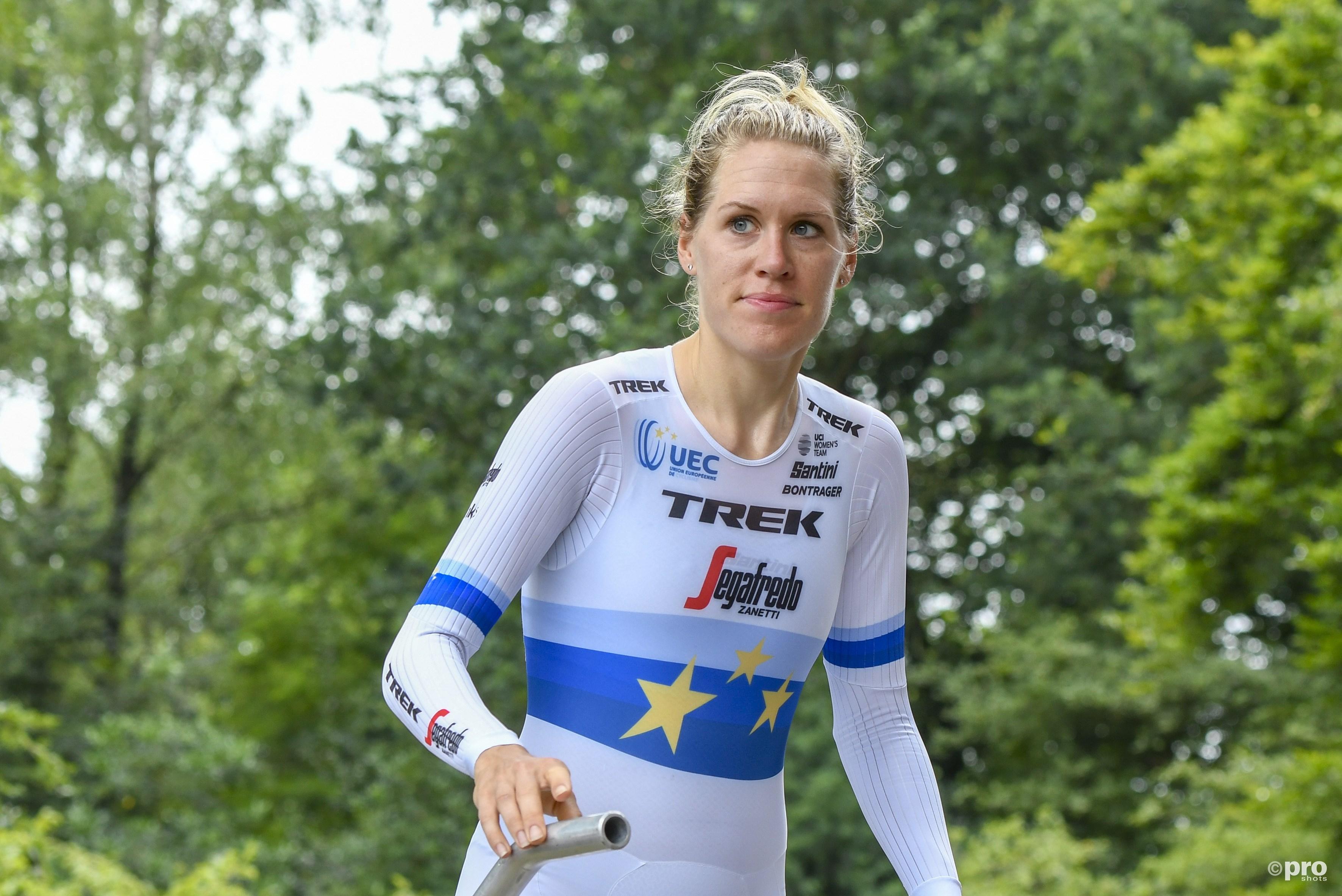 Ellen van Dijk boekt vierde Europese tijdrittitel. (PRO SHOTS/Stafan Koops)