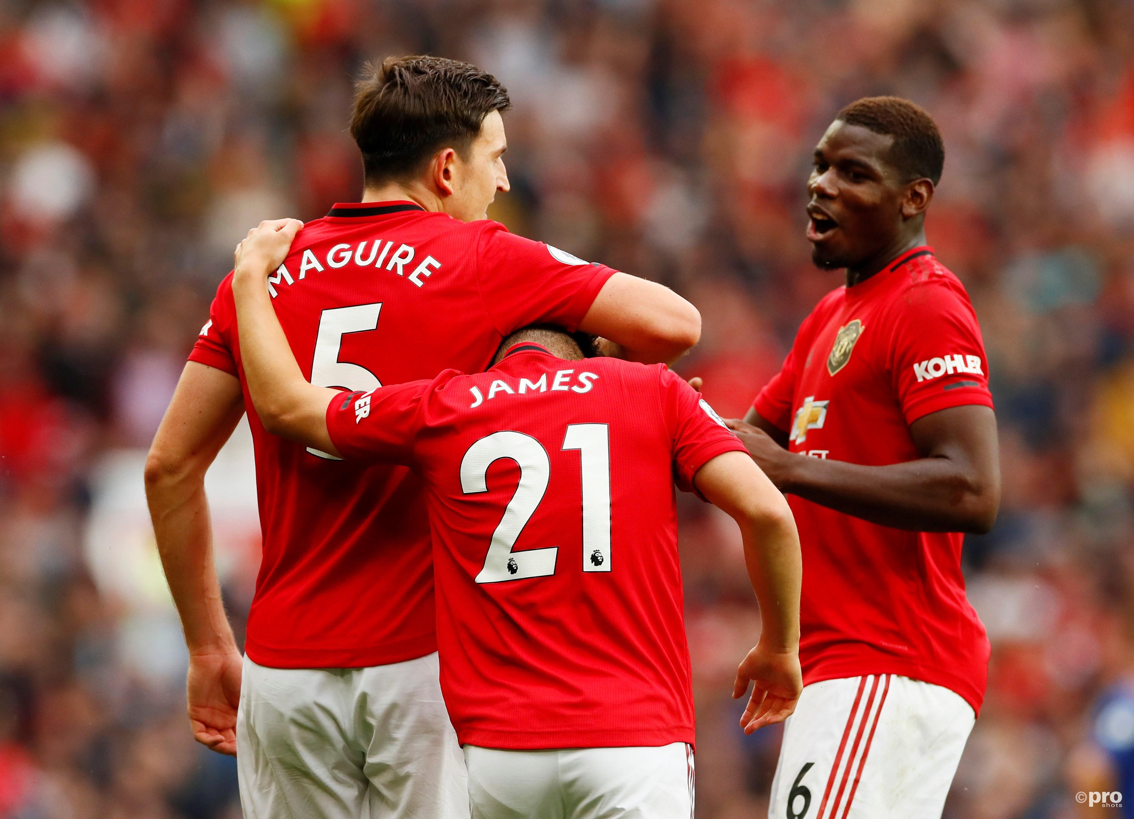 Manchester United boekt grote zege. (PRO SHOTS/Action Images)