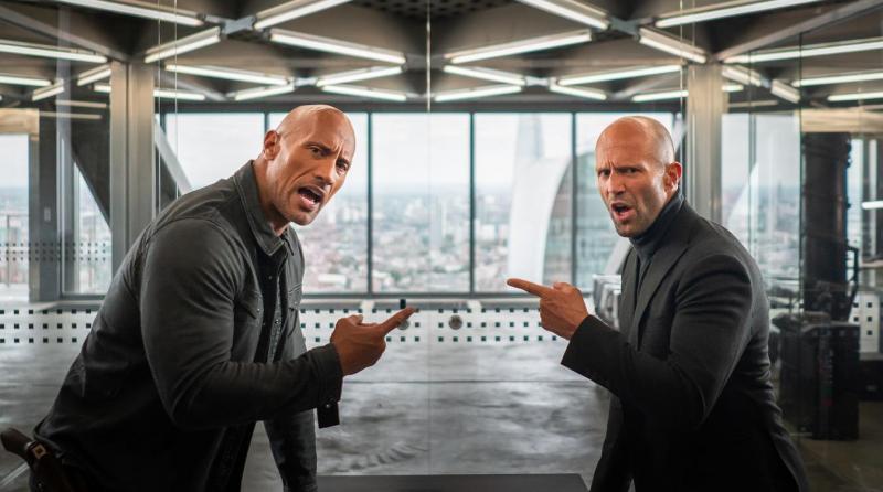 Fast & Furious: Hobbs & Shaw banter