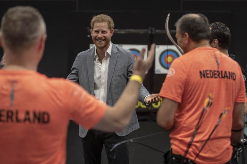 Prins Harry maakt Nederland bekend als gastland van de Invictus Games (archieffoto mei 2019: Defensie)