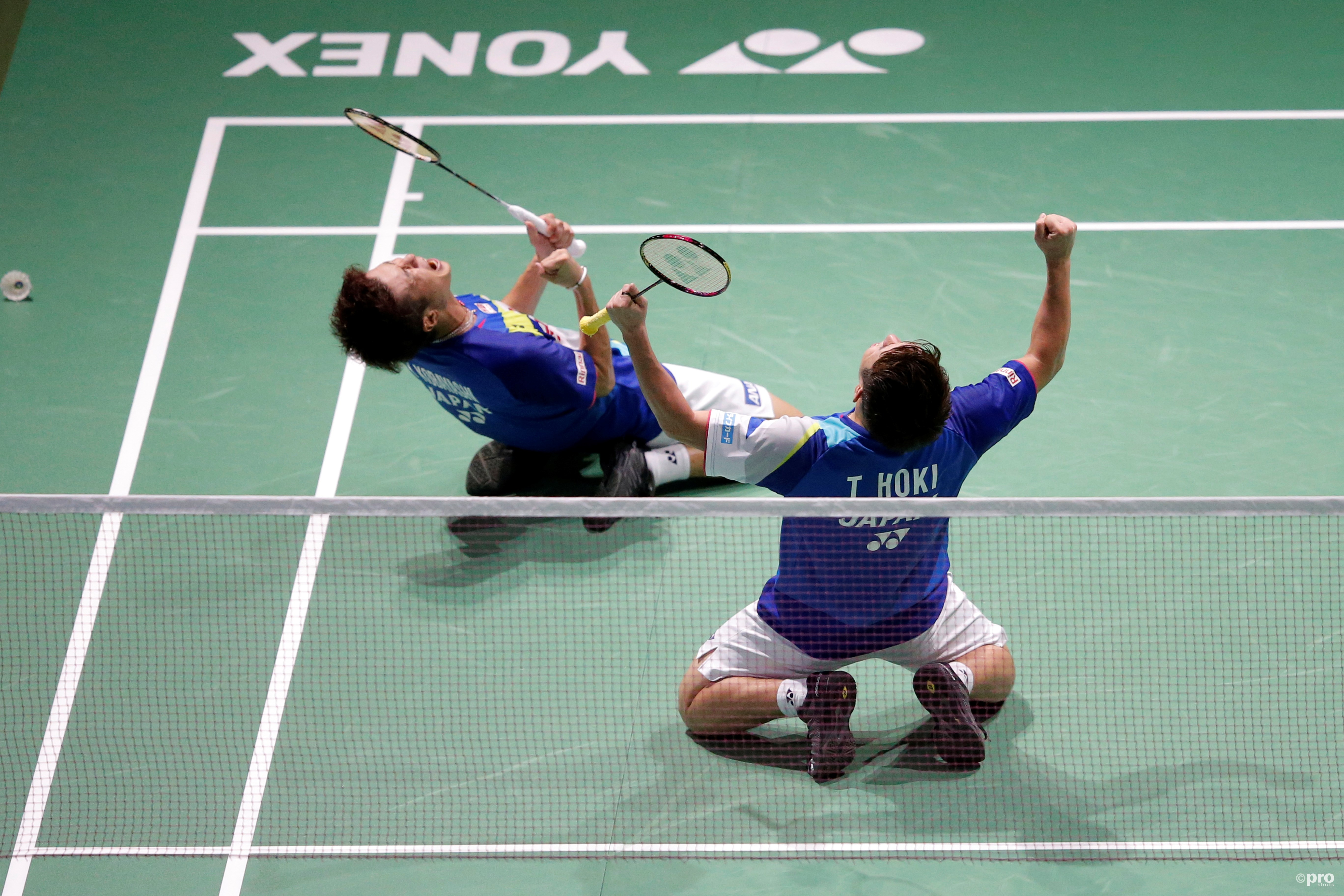 Hoki/Kobayashi verrassing van het toernooi (Pro Shots / Action Images)