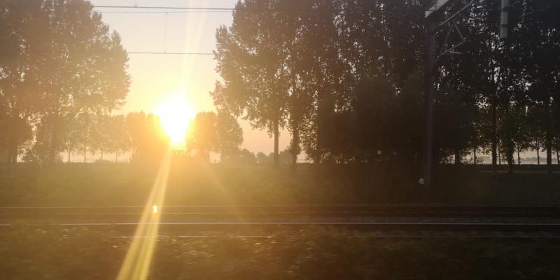 DJMO zag vanmorgen de zon opkomen