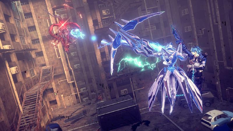 Astral Chain - Arrow Legion (Foto: Nintendo)