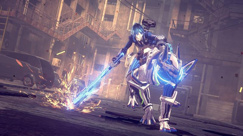 Astral Chain - Riding Beast Legion (Foto: Nintendo)