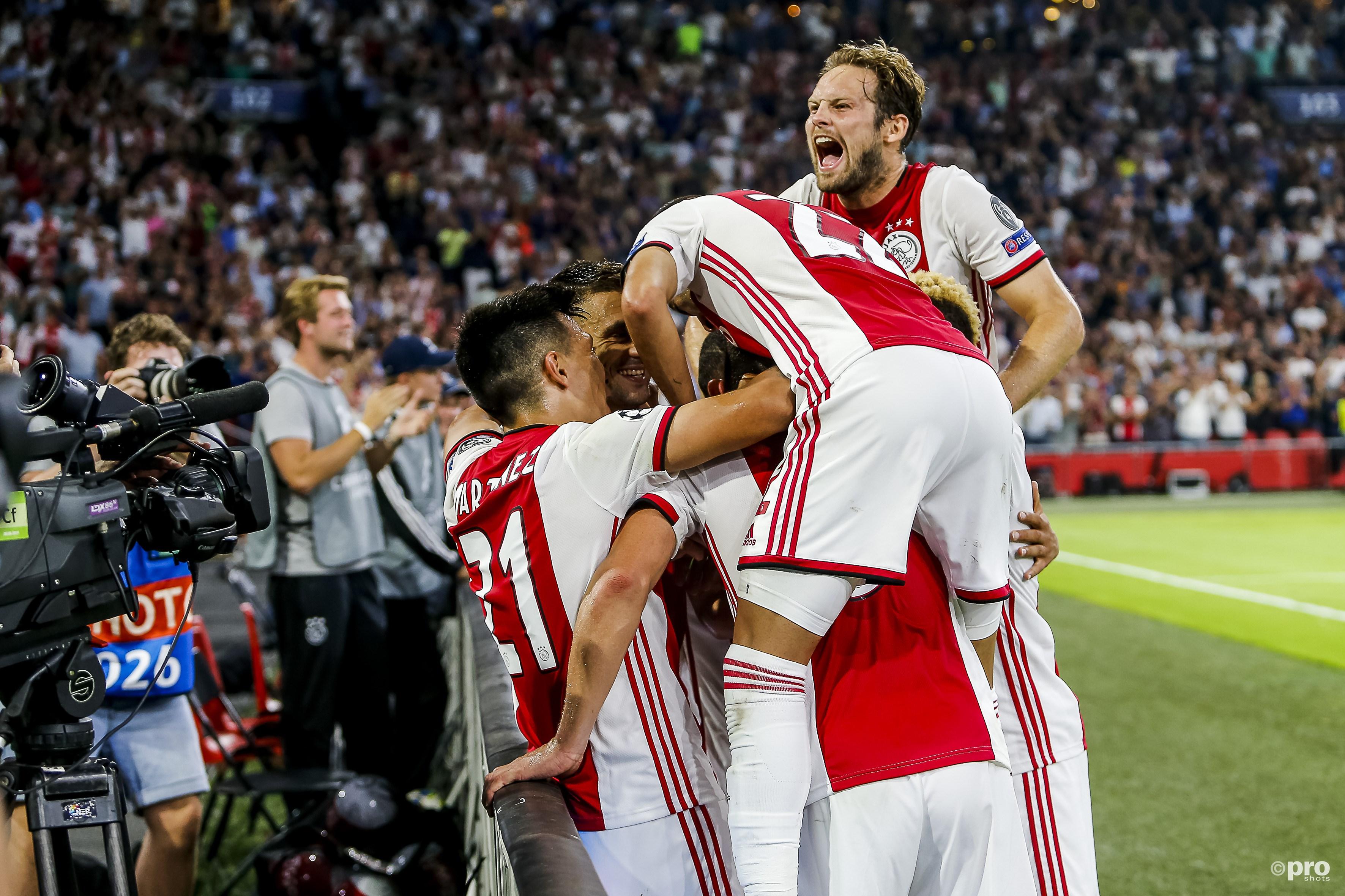 Ajax naar groepsfase Champions League (Pro Shots / Niels Boersema)