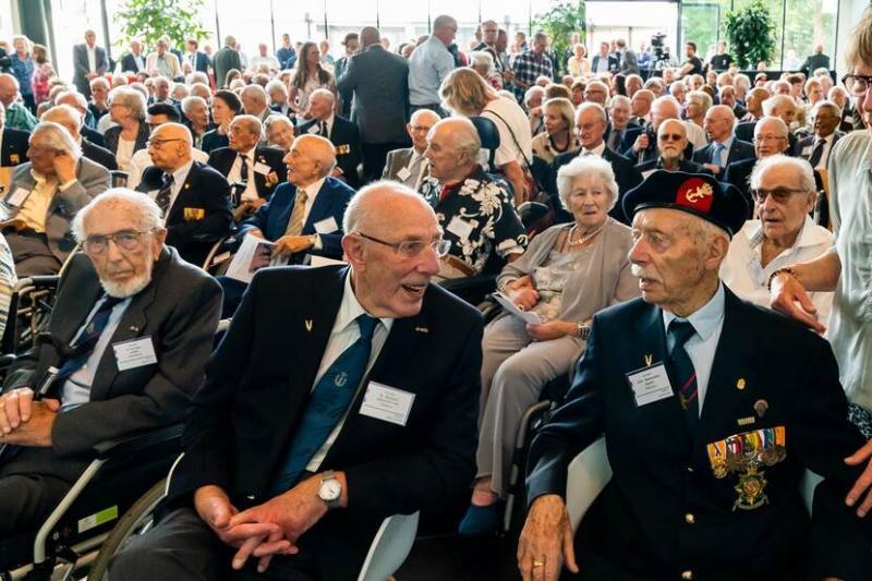 Veteranen 80 jaar na mobilisatie bijeen (Afbeelding: Defensie)
