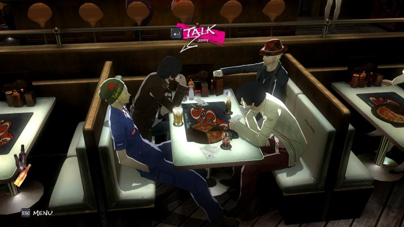 Catherine: Full Body - Cafe (Foto: Atlus)