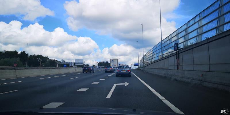 Drukte op de weg verwacht door wisselvallig weer (Foto: FOK!)