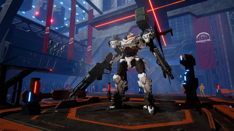 Daemon x Machina Mech