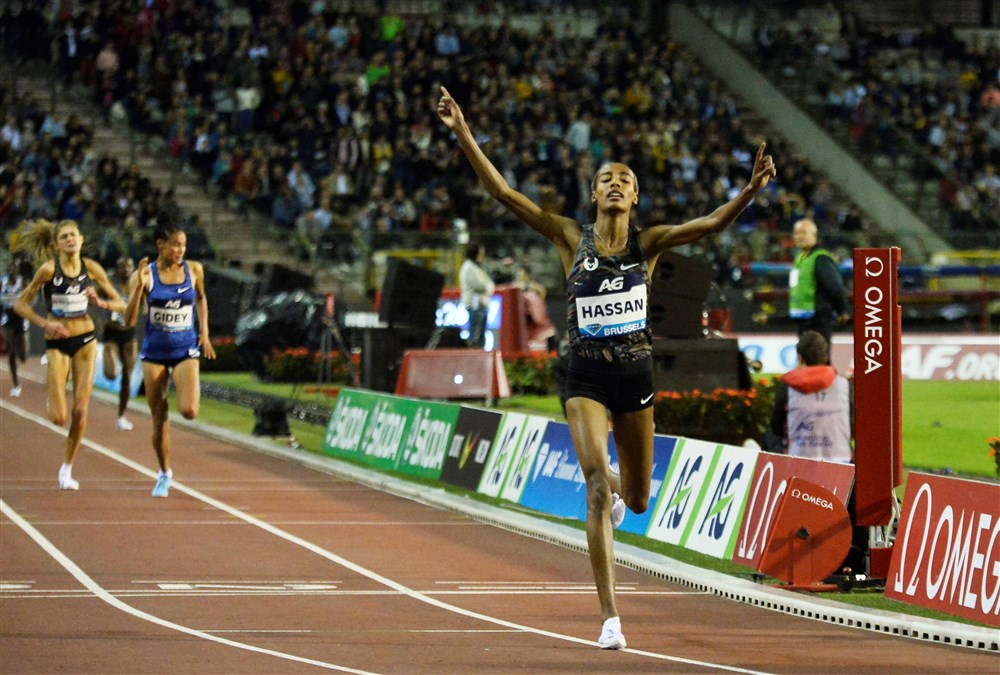 Sifan Hassan wint de 5.000 meter in Brussel (Pro Shots / Action Images)