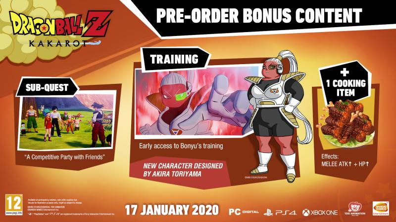 Dragon Ball Z: Kakarot - Preorder bonus (Foto: Bandai Namco)