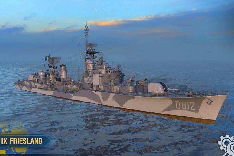 Gamefans 'dopen' 1e digitale marineschip (Afbeelding: Defensie)