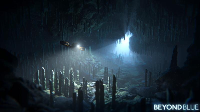 Beyond Blue - Cave (Foto: E-Line Media)
