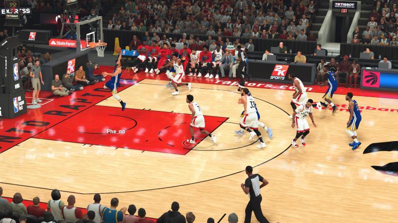 NBA 2K20 - Dunk (Foto: Pheno)