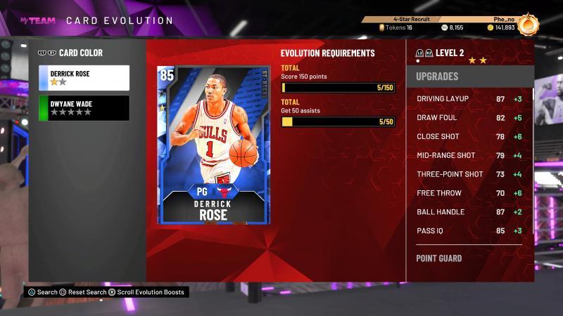 NBA 2K20 - Evolution Card (Foto: Pheno)