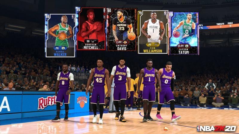 NBA 2K20 - MyTeam (Foto: 2K Games)