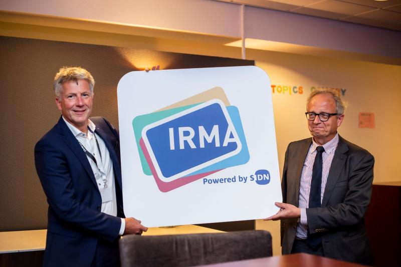 IRMA beschermt je privacy (Foto: SIDN)