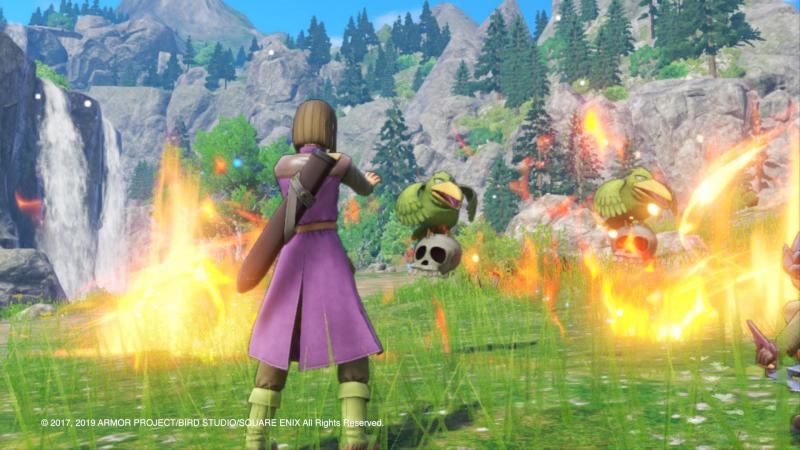 Dragon Quest XI S: Echoes of an Elusive Age - Definitive Edition - Battle in 3D (Foto: Nintendo)