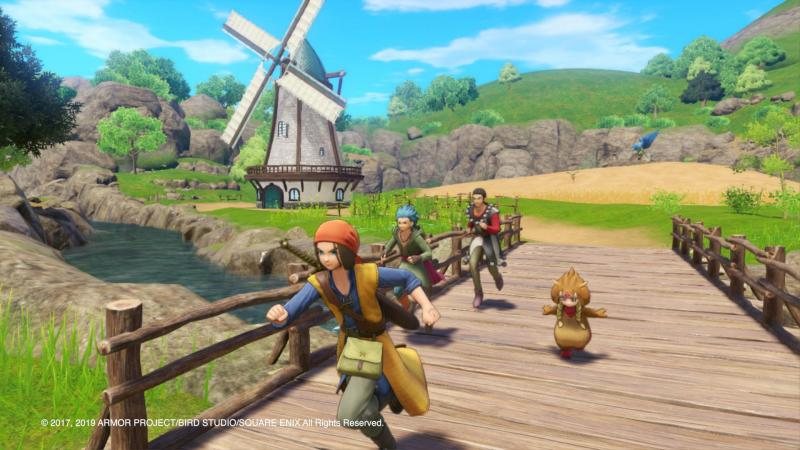 Dragon Quest XI S: Echoes of an Elusive Age - Definitive Edition - Exploration in 3D (Foto: Nintendo)