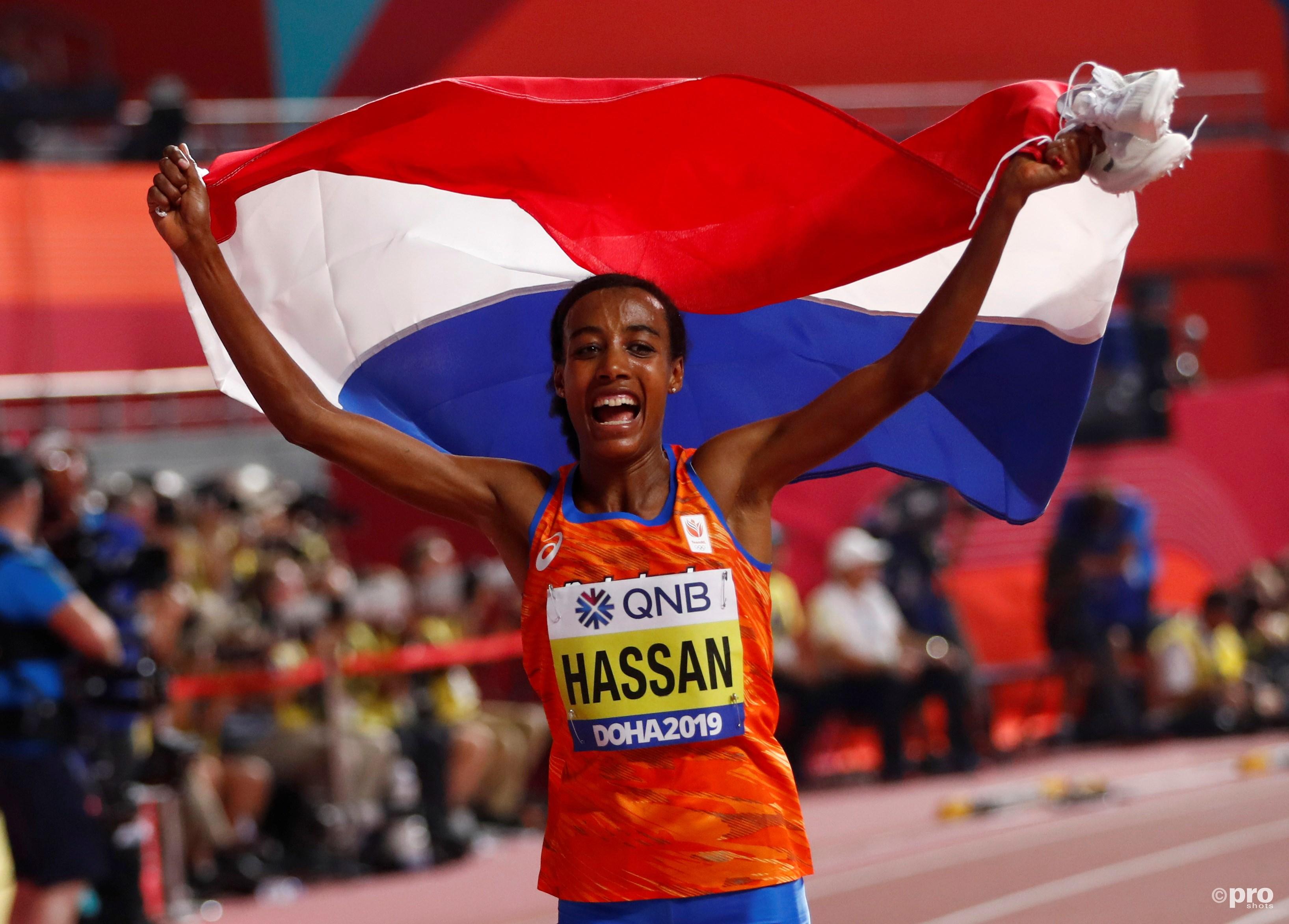 Hassan wereldkampioene tien kilometer (Pro Shots / Action Images)