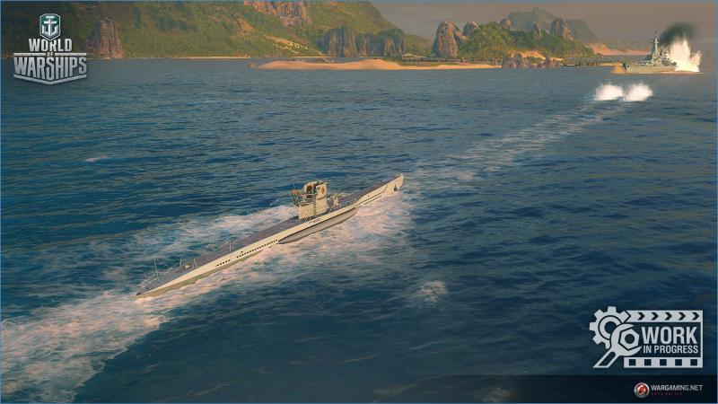 World of Warships - Submarine (Foto: Wargaming.net)