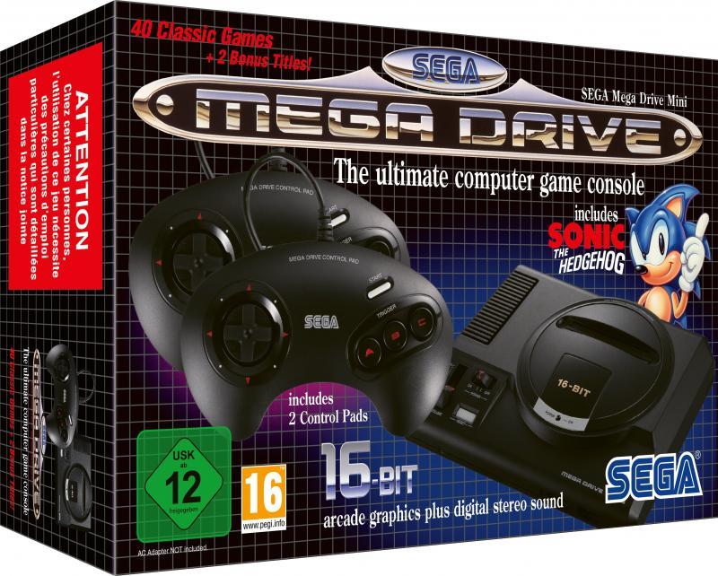 Sega Megadrive Mini - Box (Foto: SEGA)