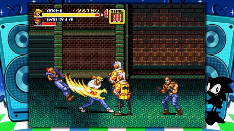 Sega Megadrive Mini - Streets of Rage 2 (Foto: SEGA)