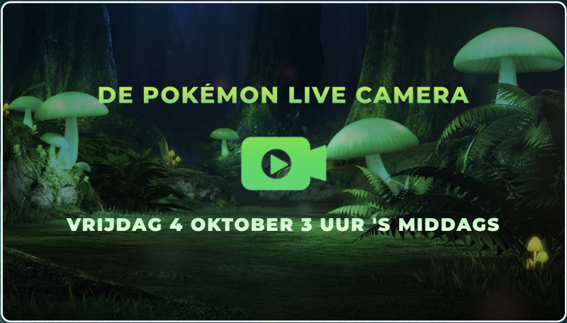 Pokémon Live Camera (Foto: The Pokémon Company International)