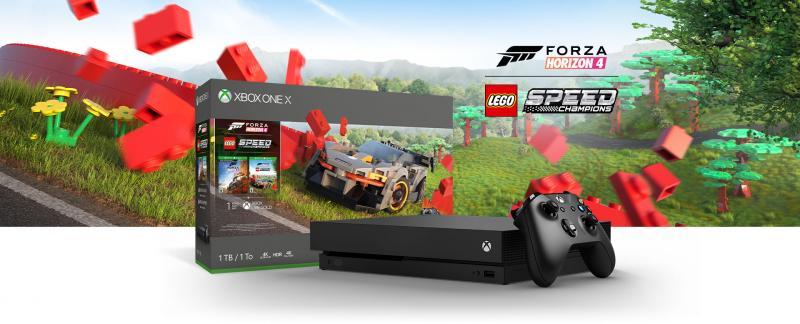 Xbox One-bundel met Forza Horizon 4 LEGO Speed Champions