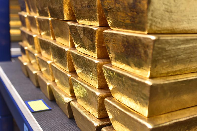 Deel van de Nederlandse goudvoorraad