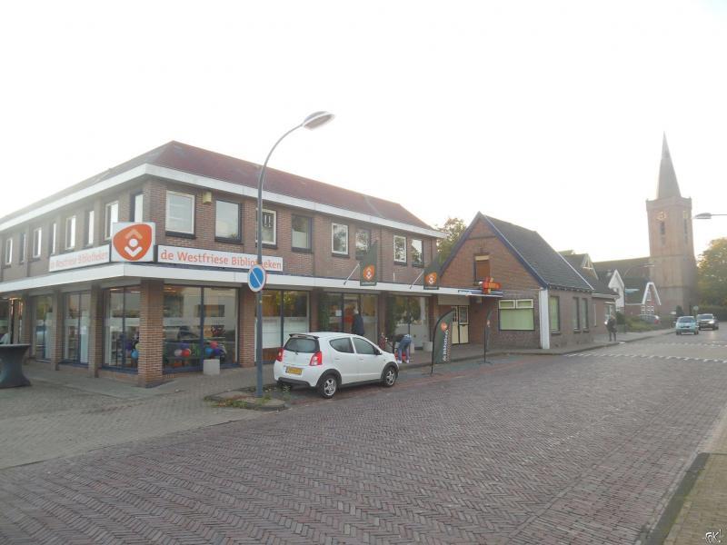 De nieuwe bibliotheek in Wognum